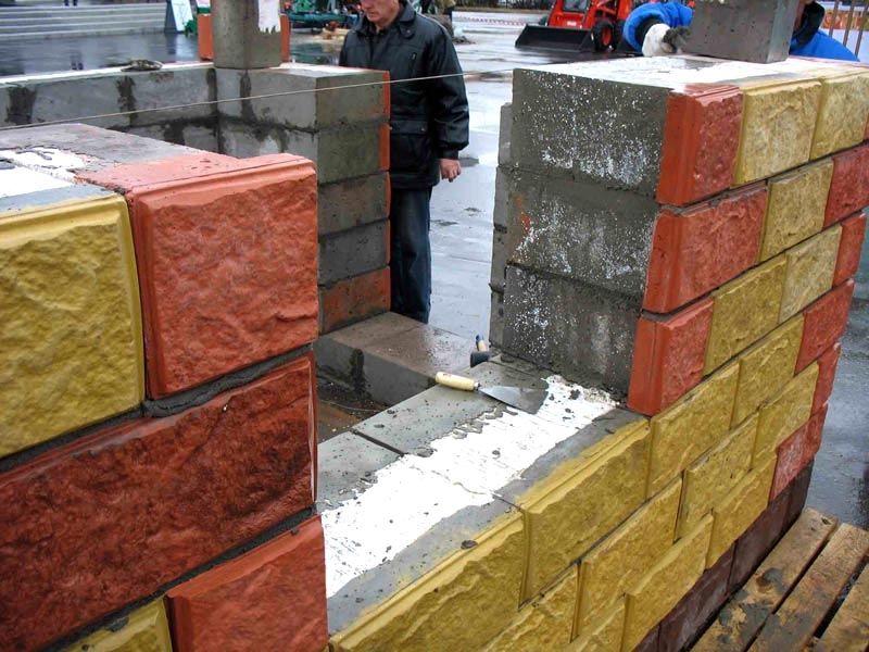 Теплоблок, теплостен, кремнегранит, полиблок — трехслойный стеновой блок