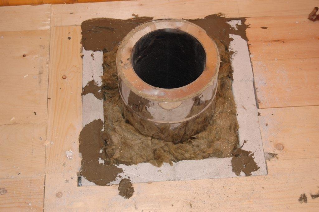 Проход трубы через потолок бани - banya-expert.com - портал о технологиях строительства бани. соединяем опыт профессионалов и частных мастеров на единой площадке