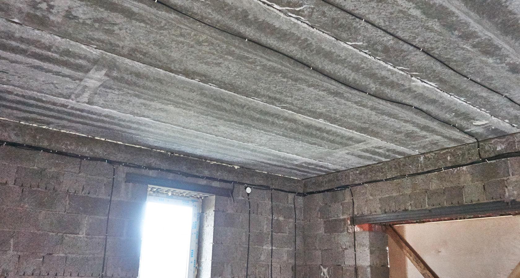 Как выполнить утепление бани из керамзитовых блоков изнутри