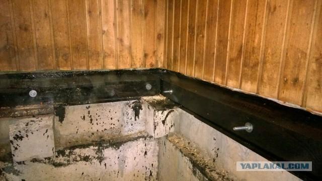 Чем обработать лаги в бане от гниения: полезные советы