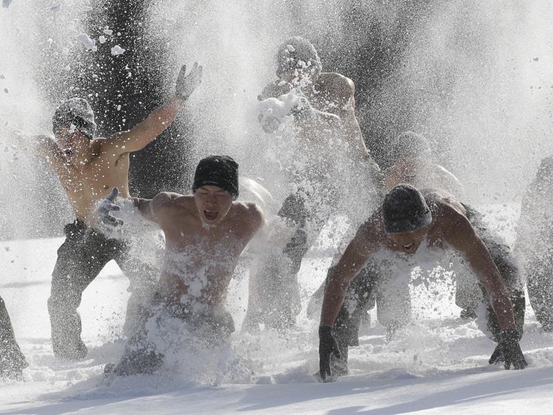 Особенности посещения бани взимний период (1фото)