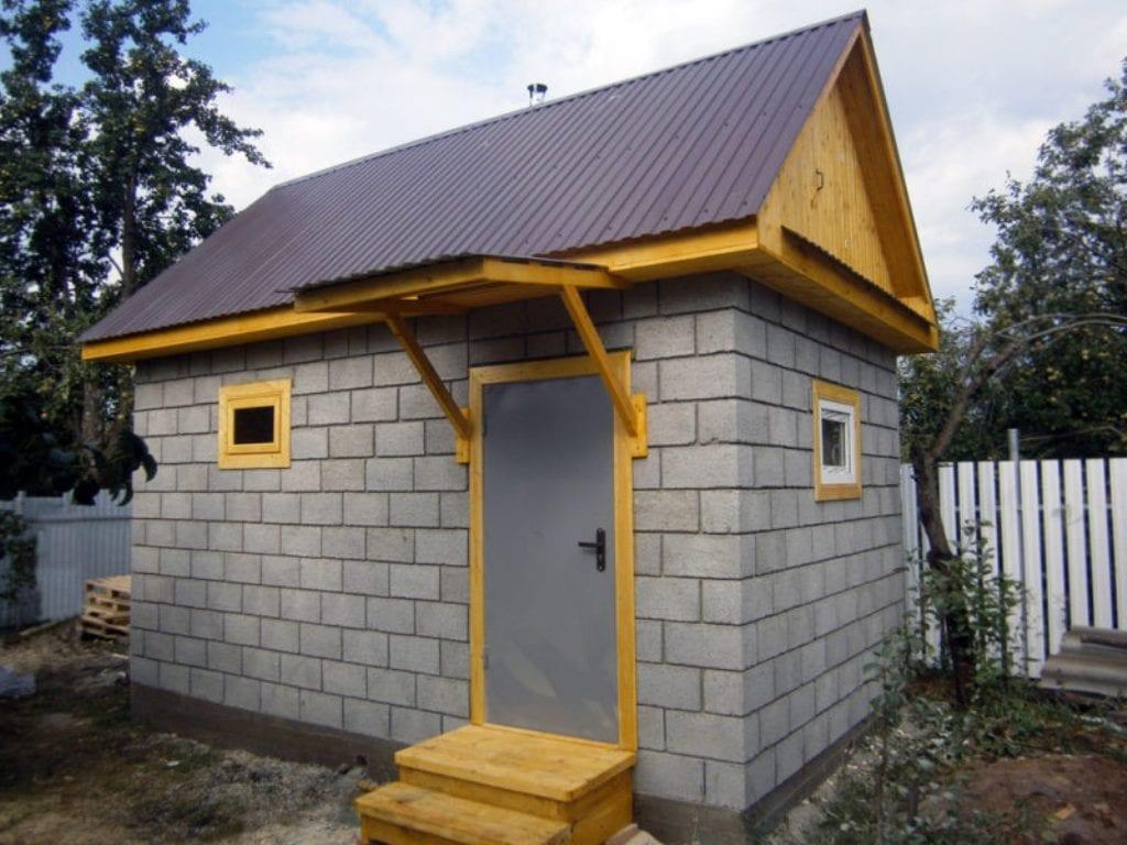Дом и баня из керамзитобетонных блоков - плюсы и минусы