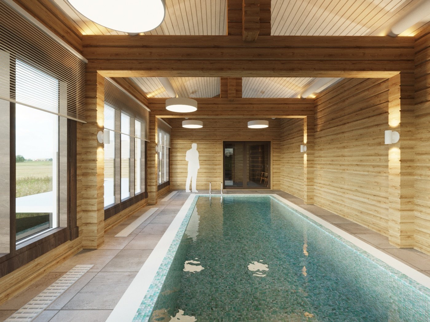 Проекты бань с бассейном