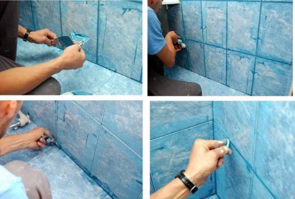 Затирка для плитки: как выбрать цвет
