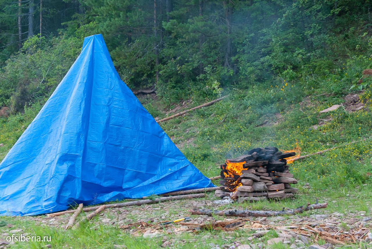 Походная баня с печкой и палаткой: покупной и самодельный мобильный вариант