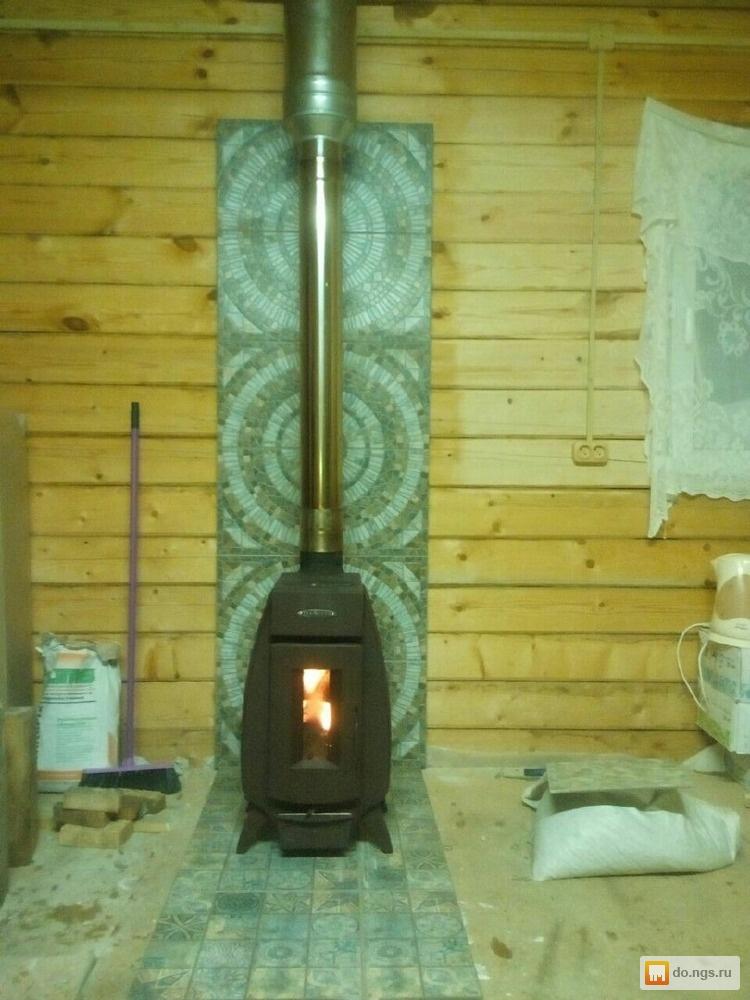 Универсальная печь для бани и отопления дома