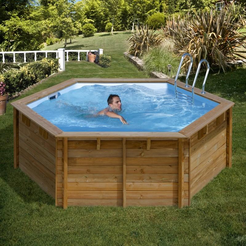Деревянный бассейн своими руками