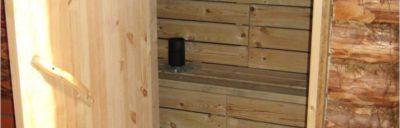 Дверь в деревянной перегородке: пошаговая инструкция