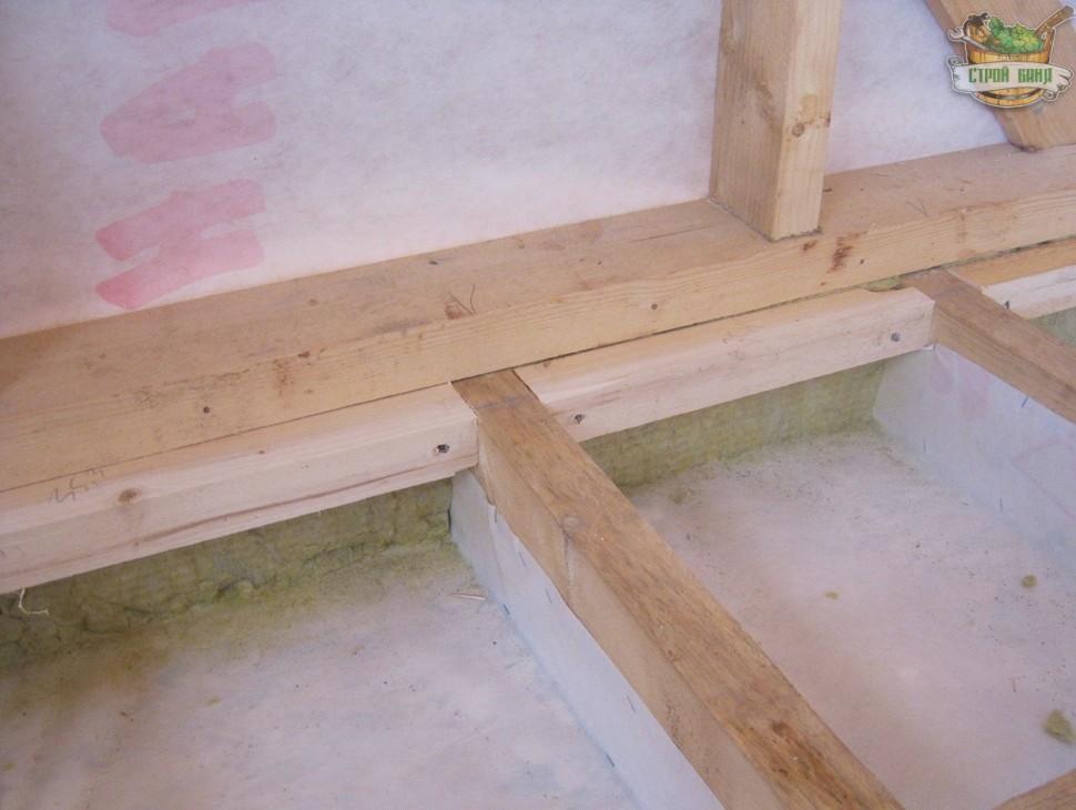 Настил полов деревянной доской своими руками