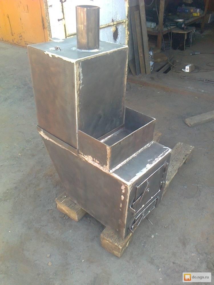 Как своими руками изготовить печь в баню из металла?