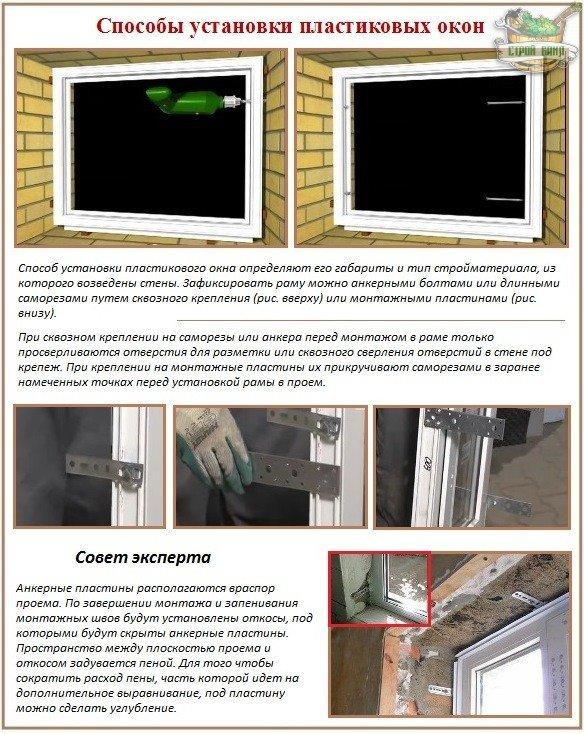 Можно ли устанавливать пластиковые окна в бане