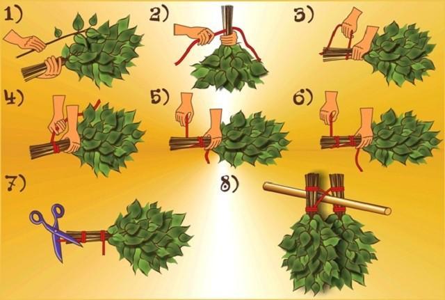 Как правильно замачивать веник для бани — выкладываем во всех подробностях