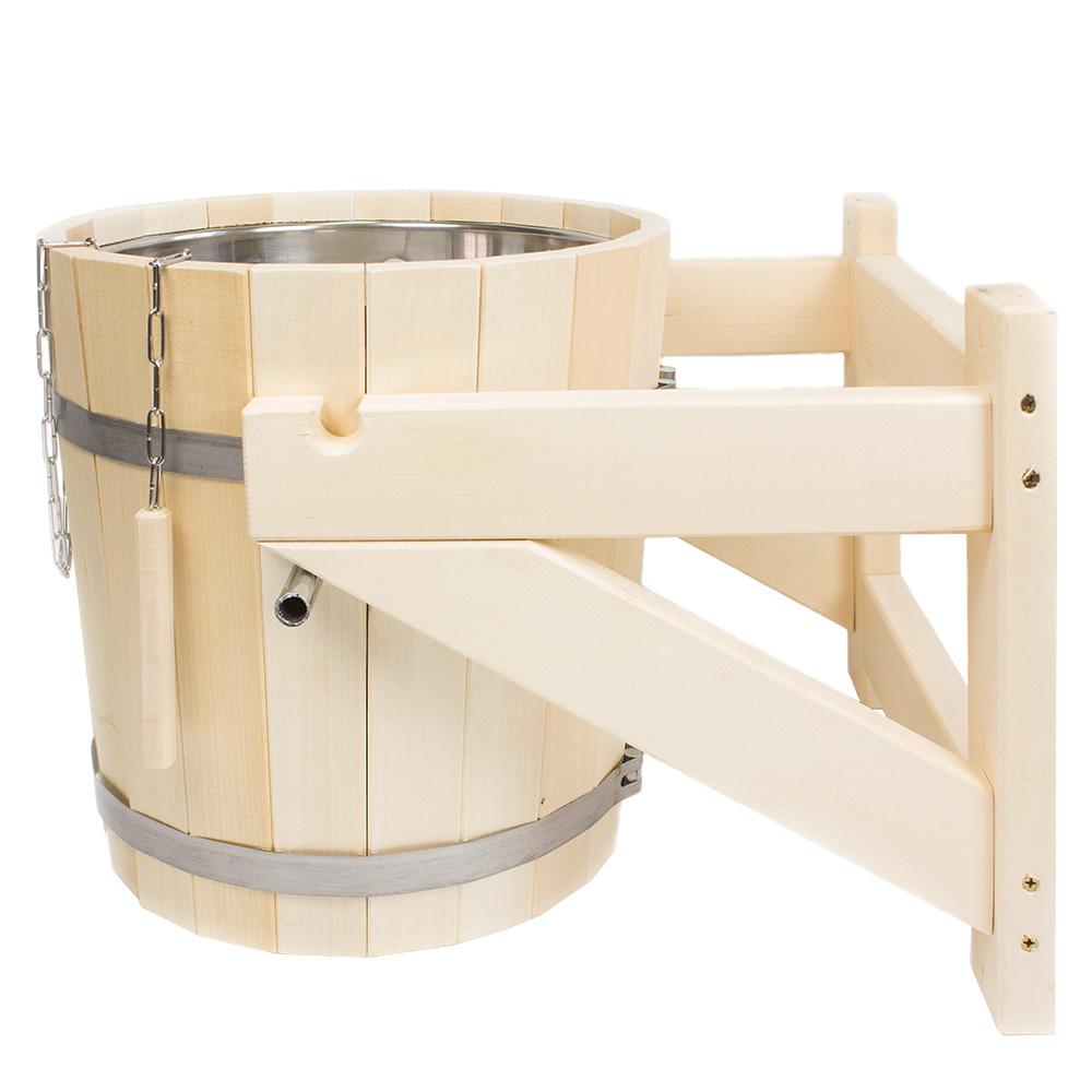 Обливное устройство для бани: делаем из ведра своими руками