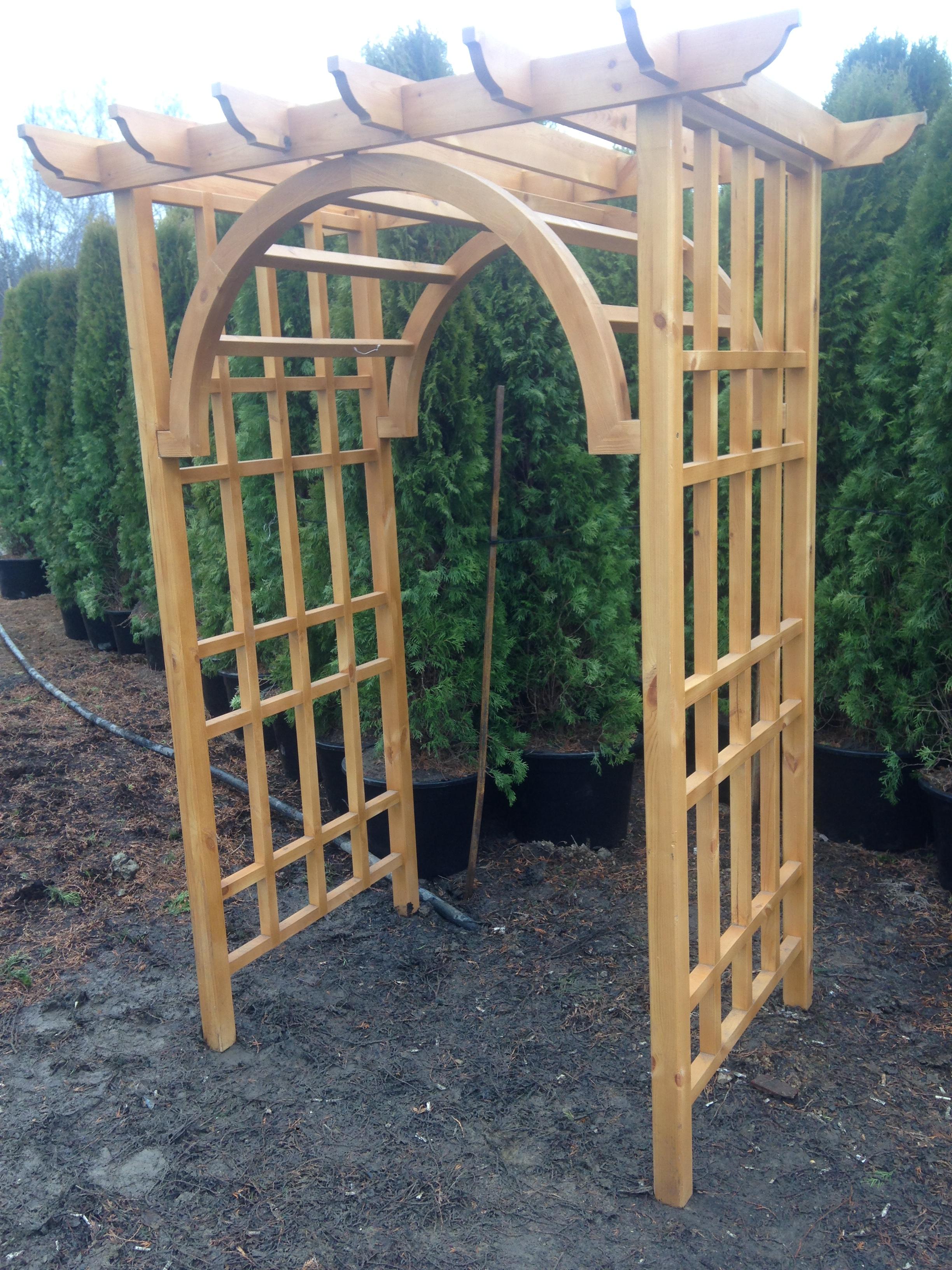 Оформление садовой перголы и арки в ландшафтном дизайне