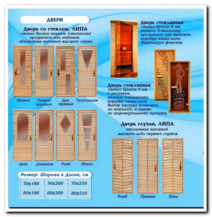 Какие банные двери лучше – советы по выбору, изготовлению и установке