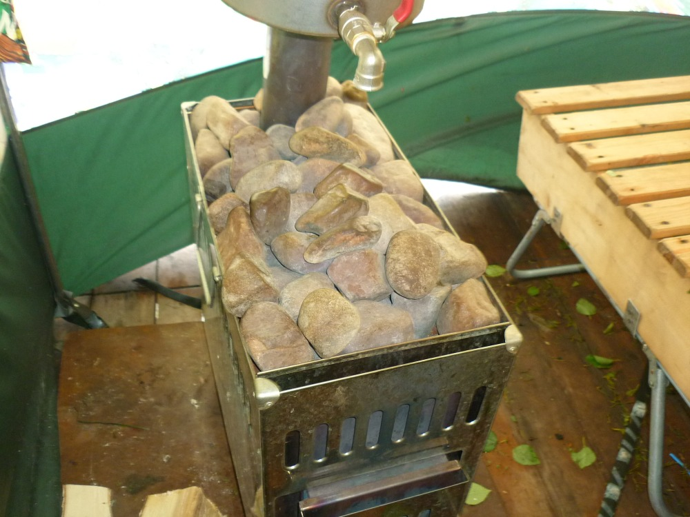 Принципы выбора и изготовления печи для походной бани