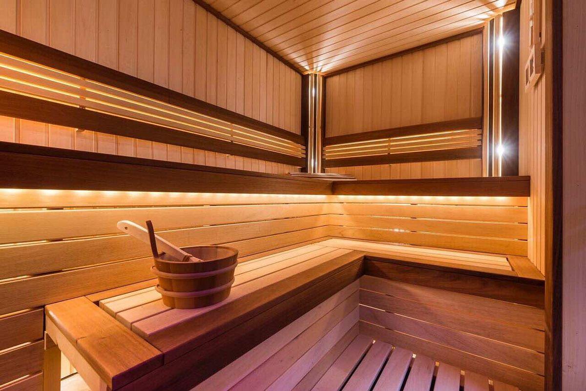 Парилка в бане отделка полок в парилке