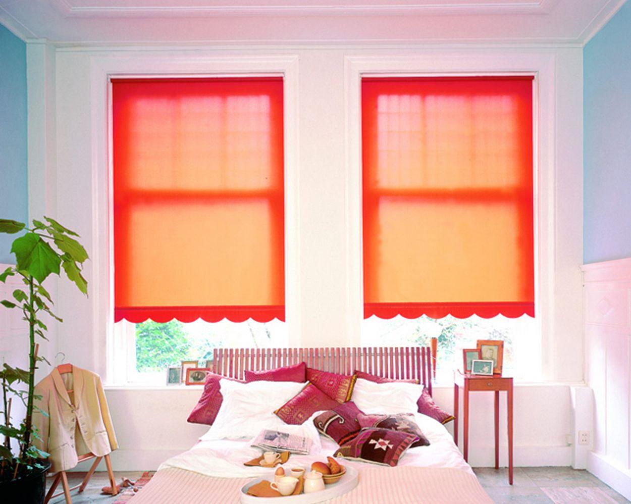 Почему рулонные шторы на пластиковые окна так популярны? Яркие фото оригинальных идей