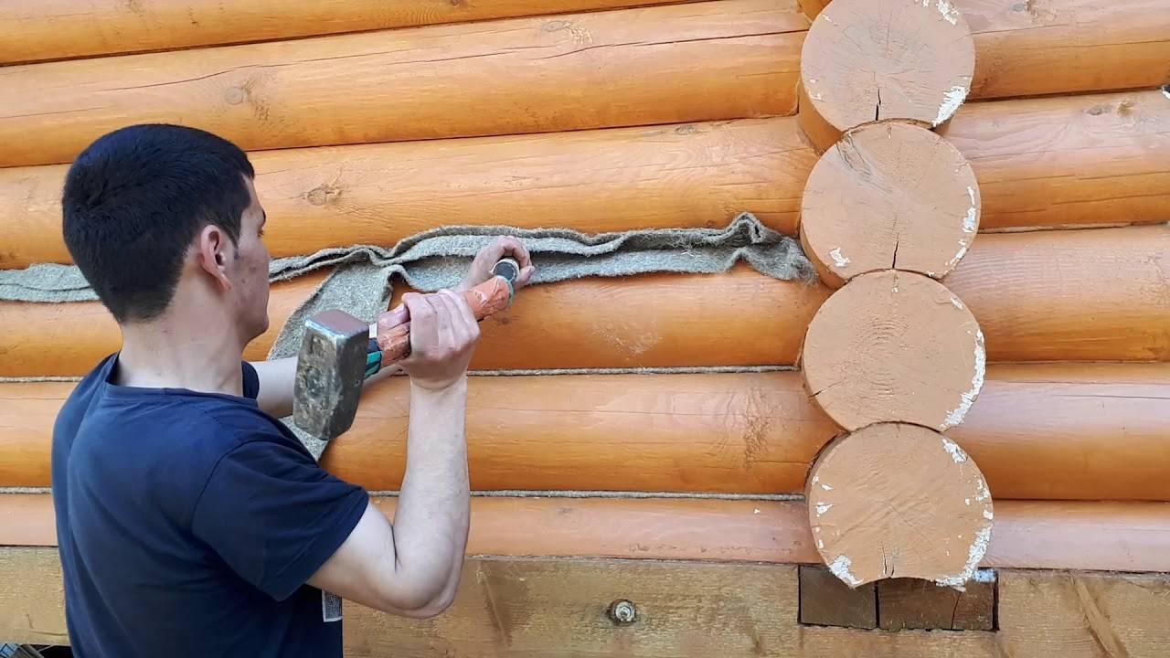Сборка стен сруба своими руками