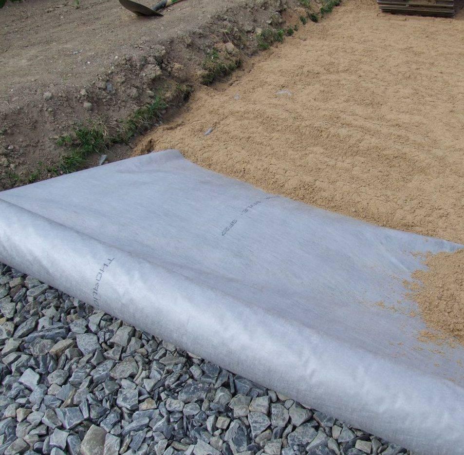 Геотекстиль что это такое и как используется: варианты, где используется геотекстиль и его применение на даче
