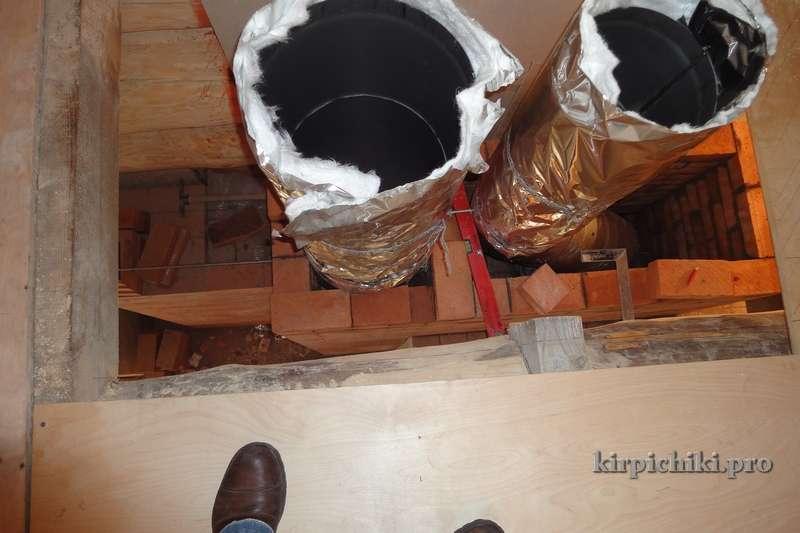 Как изолировать трубу в бане – проверенные способы изоляции