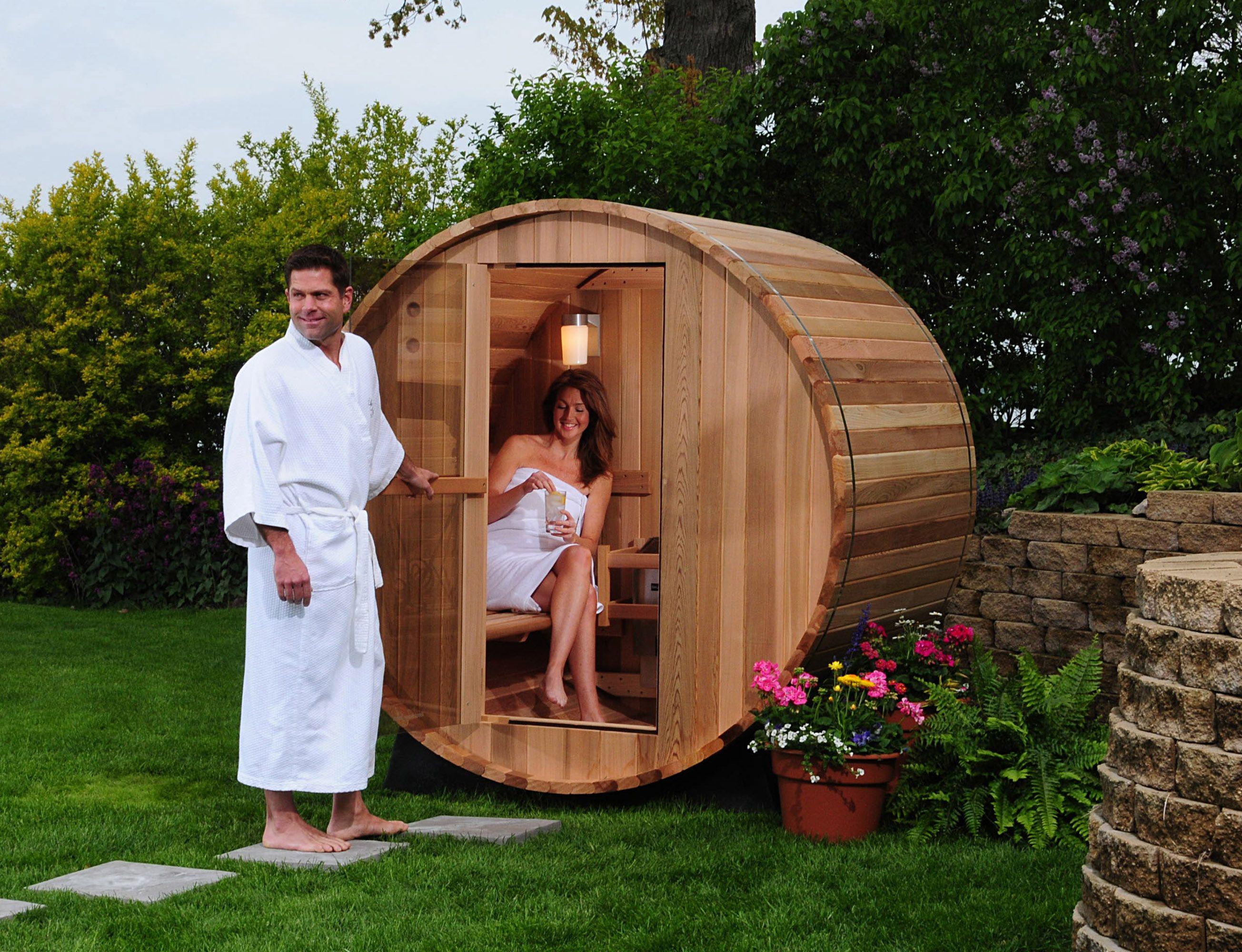 Принципы строительства летней бани на даче
