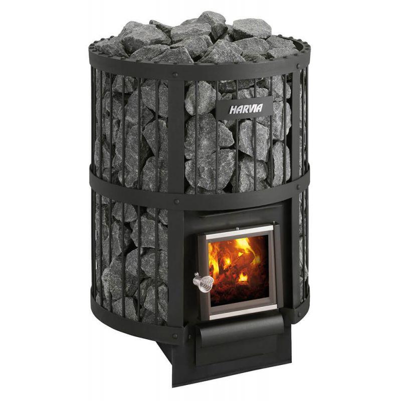 Печь для бани с закрытой каменкой: дровяная