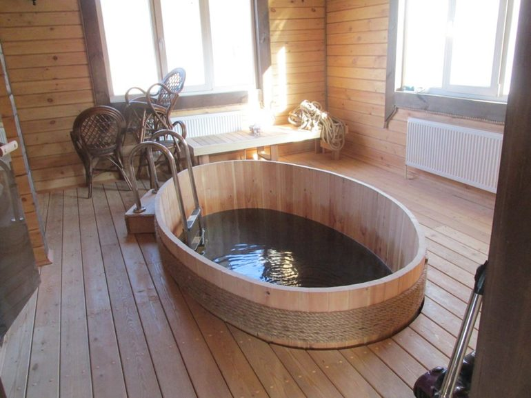 Как сделать бассейн в бане: этапы работ, варианты с фото | housedb.ru