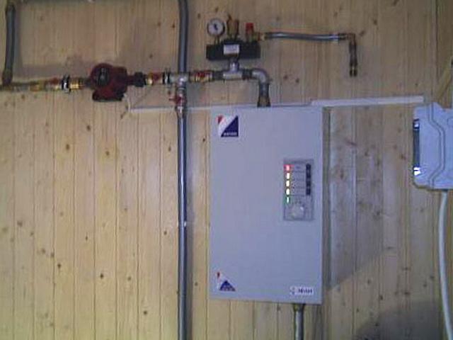 Отопление бани электричеством: котел, теплые полы и другие варианты