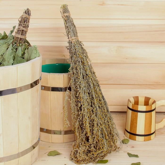 Полынь в бане — польза и вред, как использовать