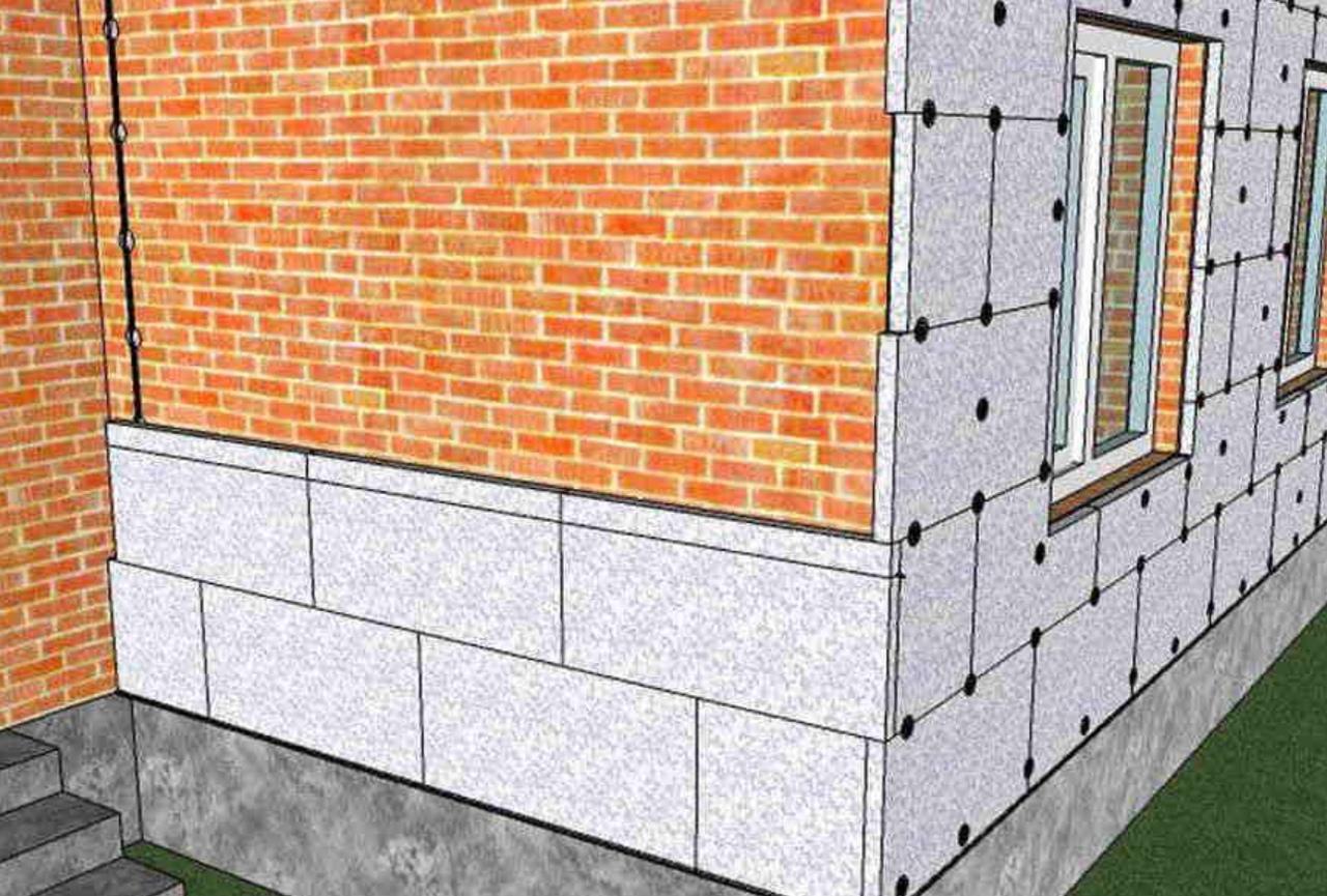 Монтаж пенополистирола на стены: материал и его особенности, инструкция по работам изнутри и снаружи, инструменты