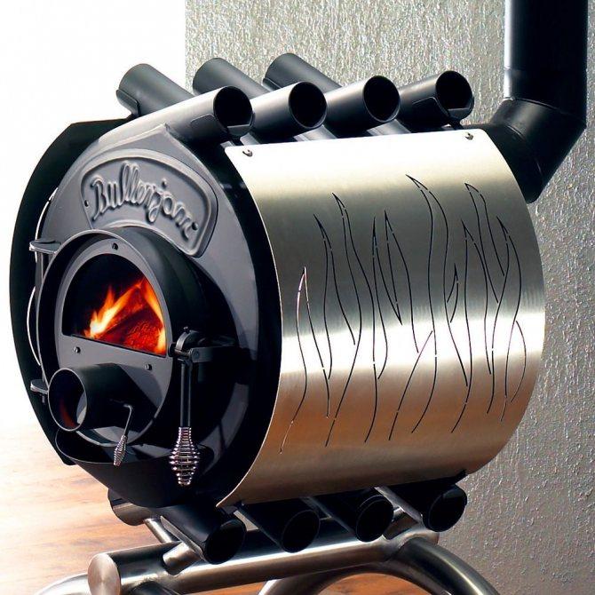 Печь бренеран (булерьян) – газогенераторная, для бани, акватэн