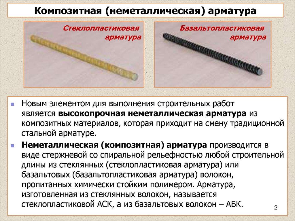 Применение доступной и долговечной стеклопластиковой арматуры