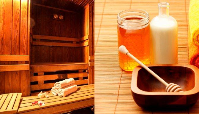 Гималайская соль для бани и сауны: польза и вред, как использовать ее и другие виды в парилке, а также для чего натираться и пропорции смешивания с медом