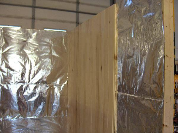 Алюминиевая фольга для утепления бани: развенчание мифов теплоизоляции