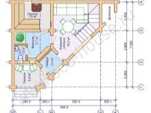 Проекты угловых бань: особенности, преимущества, виды, варианты планировки и фото