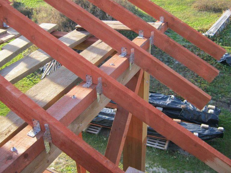 Крепление стропила к мауэрлату: схемы и способы крепления стропил