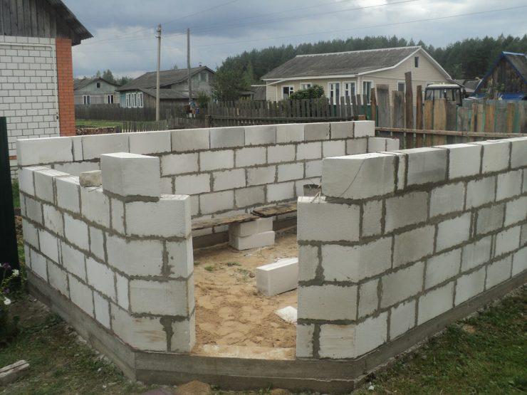 Баня из пеноблоков (97 фото): плюсы и минусы конструкции из пеноблока - спустя 10 лет, как построить своими руками - пошаговая инструкций