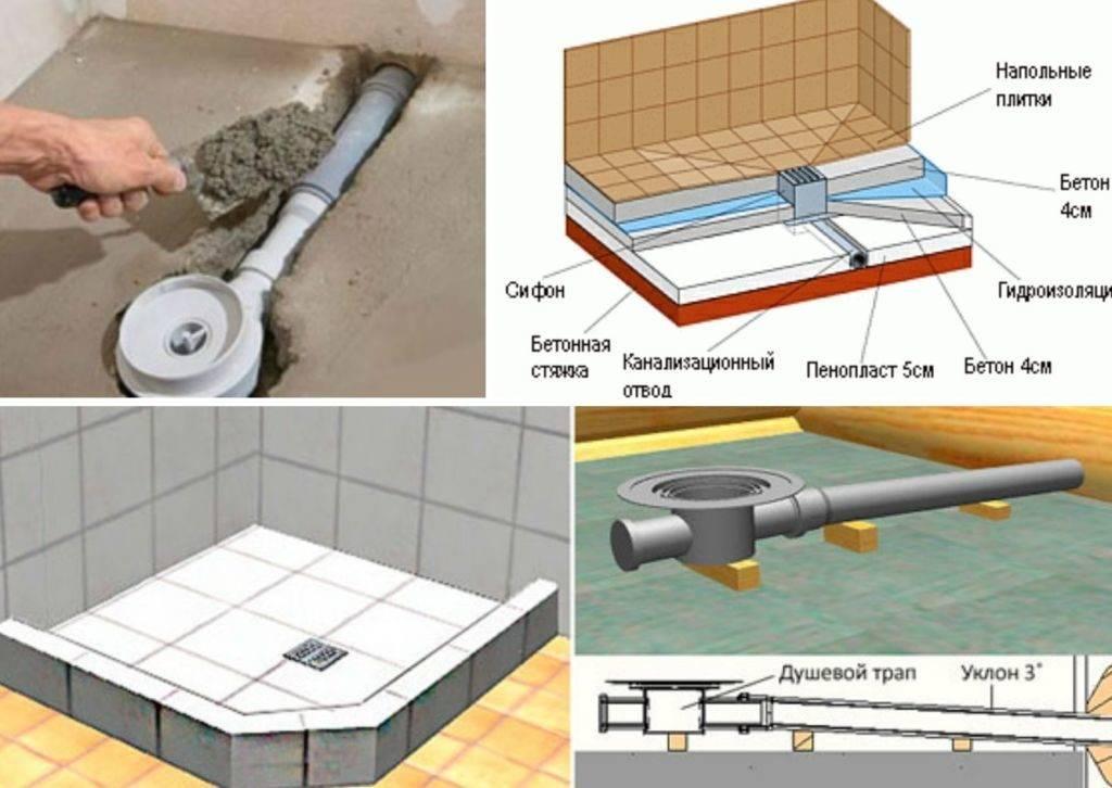 Как сделать слив в бане