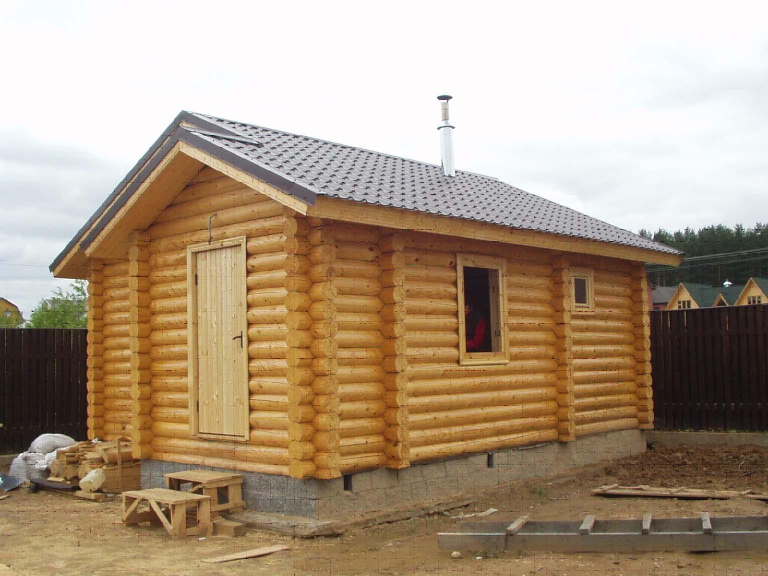 Строительство бани под ключ: проекты и цены надёжного подрядчика