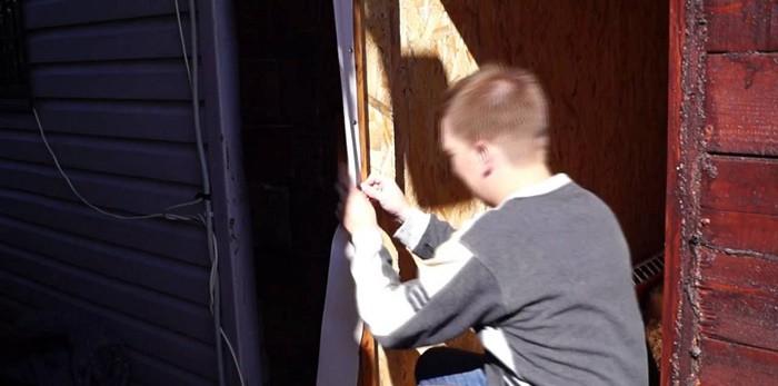 Как утеплить банную дверь своими руками: виды утеплителей, способы термоизоляции