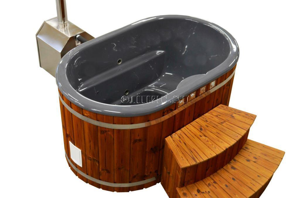 Купель с подогревом своими руками, или спа-процедуры на даче