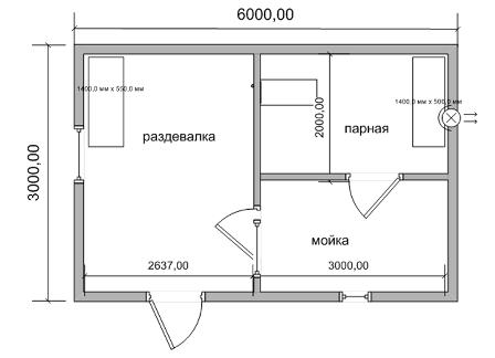 Баня размером 3 на 6 - планировка (52 фото): оформление конструкции площадью 6 на 3 внутри, постройка метражом 6х3 - мойка и парилка отдельно, план на два этажа