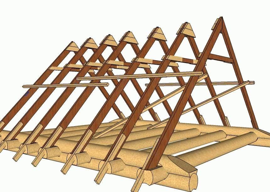 Как сделать потолок в бане – построить крышу по силам каждому + видео
