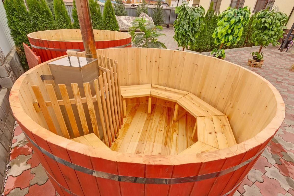 Деревянная купель для бани: фото, видео изготовления деревянная купель для бани: фото, видео изготовления