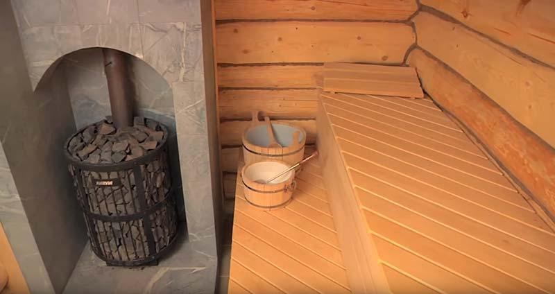 Материалы для бани внутри