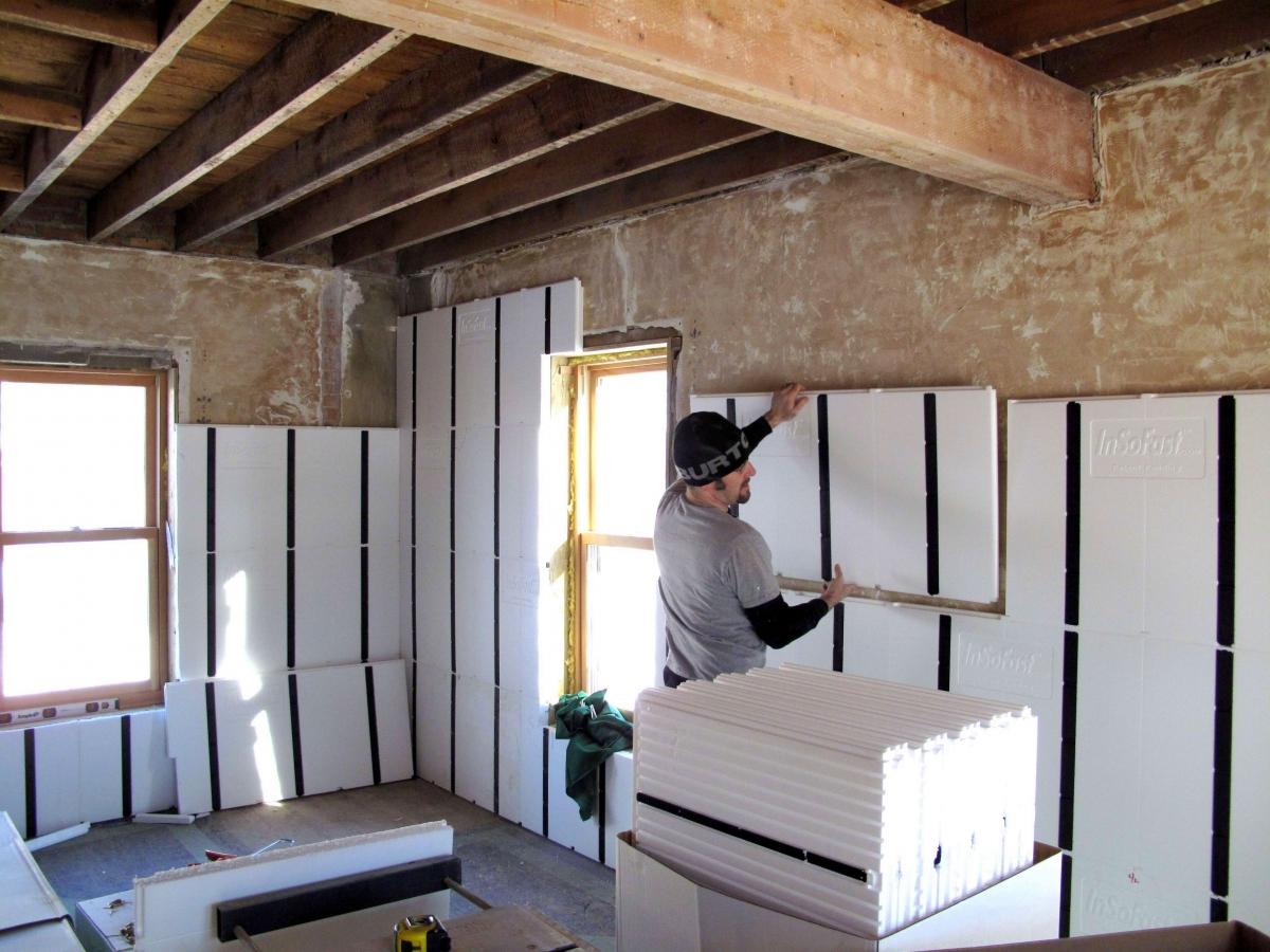Теплоизоляция стен изнутри. материалы и технология работ