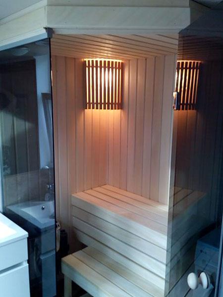 Баня в городской квартире: как сделать домашнюю мини сауну своими руками, проекты + фото