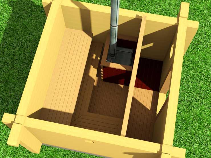 Строительство сауны для дачи своими силами