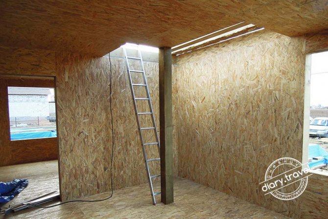 Внутренняя отделка домов из сип панелей. возможные варианты для роскошного наряда жилища